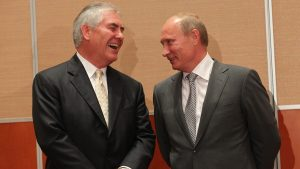 Tillerson blowing off NATO – to visit Russia