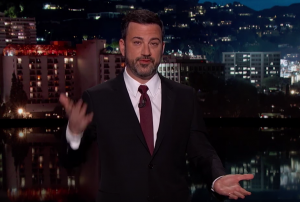 Jimmy Kimmel delivers the most powerful monologue in late night TV history