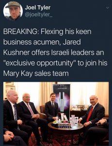 """""""Flexing his keen business acumen…"""""""