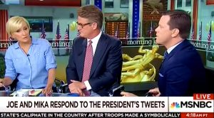 UPDATED Joe Scarborough: Trump tried to blackmail me