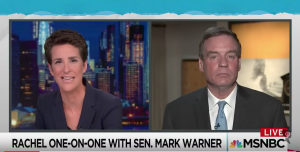 Mark Warner tells Maddow Senate Intel Cmte has 2000 pages of Trump associates' financial docs – and MUCH more to come