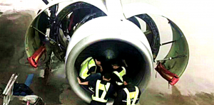 Coins thrown into plane engine by elderly passenger for 'luck' (bbc.com)