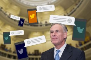 "Want Gov. Greg Abbott's ear? Try a Twitter message — if you can make his ""following"" list (texastribune.org)"