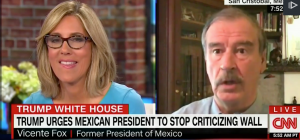 Vicente Fox drops 'F Bomb' on Donald Trump's border wall live on CNN [NSFW]