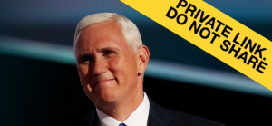 Guess who put up this hilarious fake Mike Pence web site?