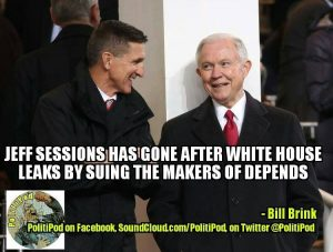 Sessions is going after the leakers!