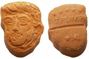 Orange-pilled! Ecstasy with president's face seized (salon.com)