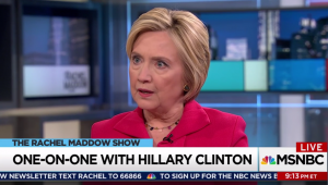 Hillary's blistering takedown of Trump must be seen!