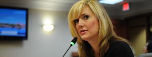 Idiot Republican lawmaker who promoted domestic terrorism loses her job!