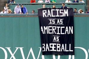 Shockupy Fenway! Meet the activists behind a daring protest banner