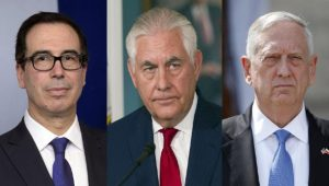 'Suicide Pact': Did three on Trump's cabinet find a way to keep him from firing them?