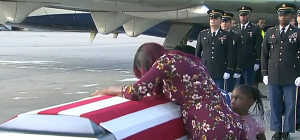 UPDATED:Yes, it's because Trump has no respect for dead soldiers