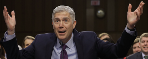 Supreme Court leaks: Neil Gorsuch and Trumpian 'justice' in the age of high douchebaggery