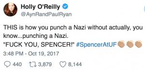 American Nazi Richard Spencer gets shut down at U of Florida: 'F–K you, Spencer!' 📺