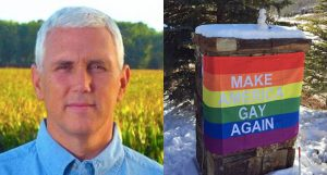 🤣 Mike Pence's Aspen vacation neighbors taunt him with 'Make America Gay Again' banner 🏳️‍🌈 (rawstory.com)