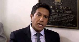 """Sanjay Gupta on Trump's so-called """"excellent"""" health: """"He has evidence of heart disease and he is borderline obese"""" (rawstory.com)"""
