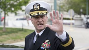 The best people! Trump scrambles to sweep failed Ronny Jackson appointment under his rug