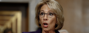 Betsy DeVos is objectively pro-corruption in education