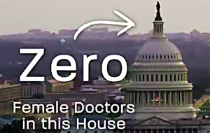 Watch a great ad for a woman doctor out to thwart congressional 'mansplaining'