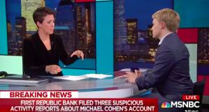 📺 Ronan Farrow tells Rachel Maddow how he obtained Michael Cohen's confidential financial records