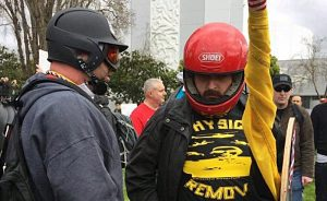 Busted! California cops, College Republicans sided with violent #MAGA cultist to intimidate and prosecute leftists