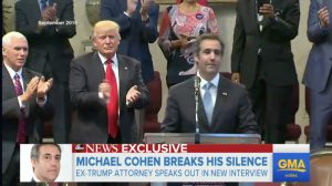 Michael Cohen sends Donald Trump a stark message