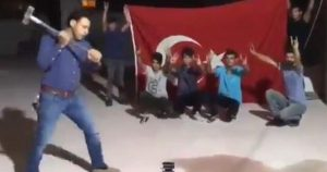 Turks Are Smashing iPhones With Sledgehammers, Shooting Them With Guns, To Protest Trump (newsweek.com)