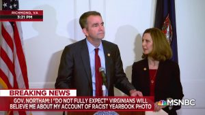 Virginia governor Northam now denies being in racist yearbook photo (feeds.reuters.com)