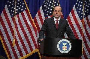 Labor Sec'y Acosta RESIGNS as Furor Over Epstein Pedo Plea Deal Explodes