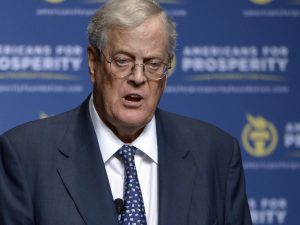 American oligarch David Koch is dead at last — and could not have chosen a better day to land to hell